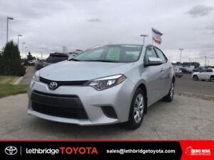 Toyota Certified 2016 Toyota Corolla LE - Please TEXT  403-393-1