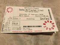 2x Sasha refracted live-London