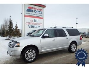 2014 Ford Expedition Max Limited 4x4 w/ Luggage Rack, 64,064 KMs