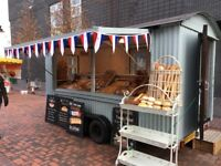 Shepherds Hut Style Catering Trailer