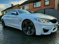 2015 BMW M4 3.0 DCT 430BHP *SUNROOF* MINERAL WHITE!! LIKE M3 EVO RANGE ROVER M5 C63 C43 GOLF R GTI