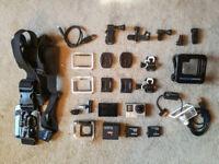 GoPro Hero 4 Black 4K Amazing Buddle Deal
