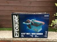 ERBAUER ERB707BTS BELT & DISC SANDER 240v