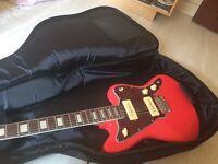 Revelation RJT-60 cherry red jazzmaster.