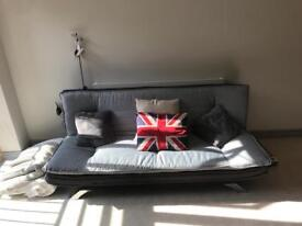 Sofa bed, with 3 cushions