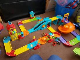 Vtech toot toot train station