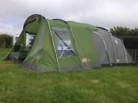 Coleman lakeside 6 deluxe with front porch extension tent