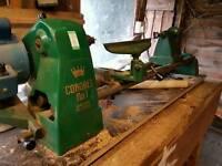 Coronet wood turning lathe