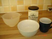 Four Kitchen Items