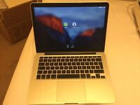 """13"""" Macbook Pro retina display mid 2014 8GB ram for sale in good condition"""