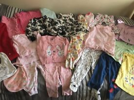 Baby girls clothes bundle ages 9-18 months
