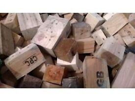 Pallet Blocks for wood burning stove