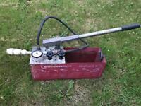 Rothenberger pressure tester plumbing tool