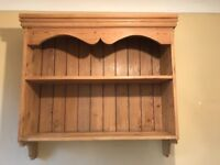 Beautiful Solid pine wall unit