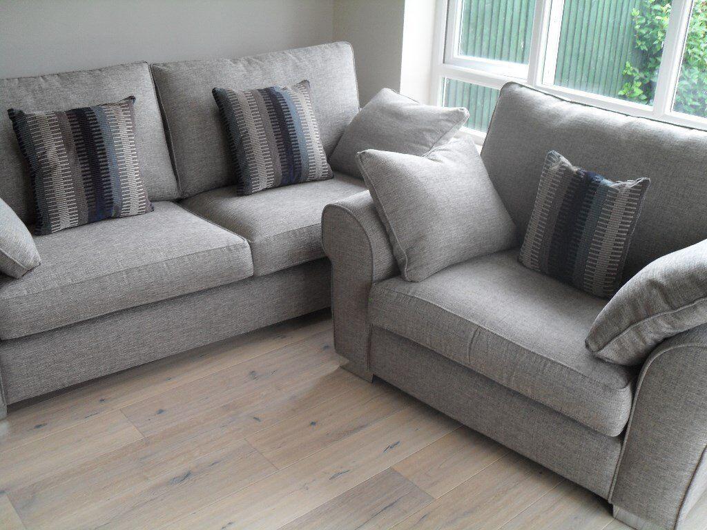 Fabulous Brand New Large Sofa Snuggler Chair For Sale In Shrewsbury Shropshire Gumtree Home Interior And Landscaping Mentranervesignezvosmurscom