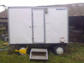 Banbury show/catering trailer - good condition
