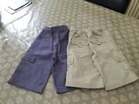 2x boys Jojo Maman Bebe shorts