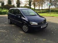 Vauxhall Zafira 1.6 petrol one year mot great conditions 7 seater
