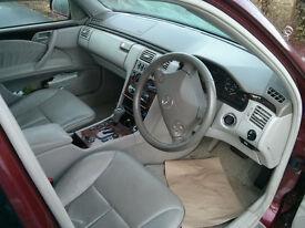 Mercedes E-Class S210 Estate 1999 2.8 elegance Spares or repair