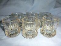 Shot glasses set 6