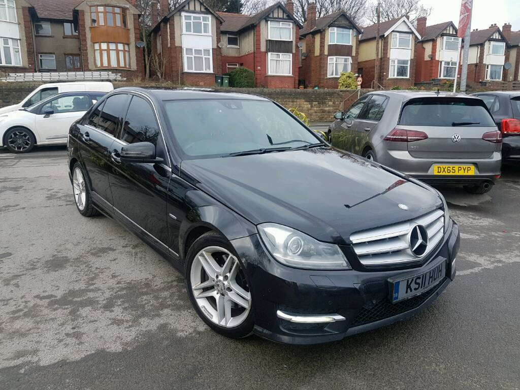2011 mercedes benz c class c350 cdi blueefficiency amg sport edition 125 auto black twin turbo. Black Bedroom Furniture Sets. Home Design Ideas