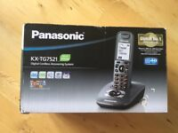 Panasonic Cordless home telephone with answering machine KX-TG7521