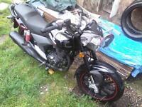 ksr 125cc 15 plate good clean bike less than 8000 miles cud do with chain n sprockets but still ride
