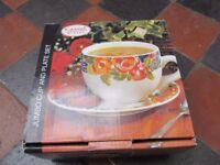 JUMBO CUP & PLATE SET (NEW)