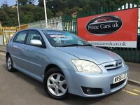 2006 56 Yoyota Corolla 2.0 D-4D Colour Collection 5dr Turbo Diesel 5 Speed Manual