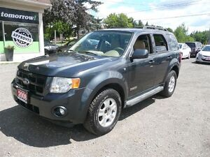 2008 Ford Escape Limited 3.0L LEATHER AWD SUNROOF HEATED SEATS