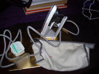 Morphy Richards steam travel iron in own carry case