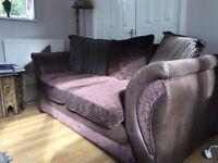 DFS fabric sofa.