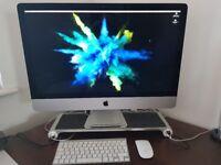 """iMac 27"""" late 2012 new design + accessories"""