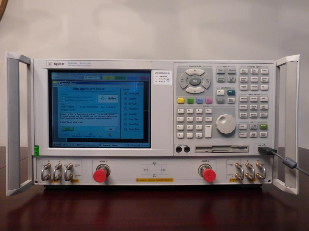 Agilent Network Analyzer Calibration Kit : Agilent pna e a khz ghz port reciever rf