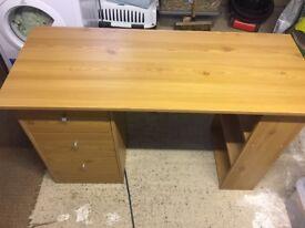 Wood effect dresser and bedside table