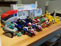 Paw patrol patroller with characters