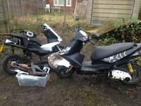 Re listed... generic xor 2 stroke 50cc un restricted