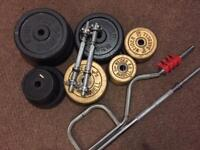 Iron weights set 120kg