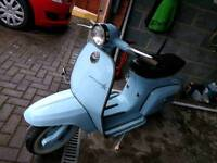 Lambretta J 125 Super Starstream
