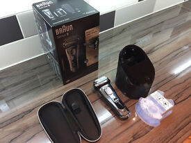 Braun 9296 Series 9 Wet & Dry Electric Shaver + Clean & Charge Station