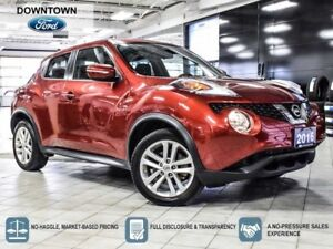 2016 Nissan Juke SV, Bluetooth, Back up cam, Heated seats, Low K
