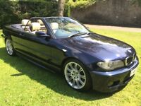 BMW 330 Ci Sport Convertible, Individual, BRAND NEW MOT, Full Serv Hist, ONLY 84k Miles & Hard Top