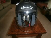 HJC FG-JET Open Face Crash helmet. New and Unused