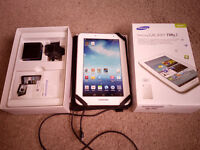 Great Condition SAMSUNG GALAXY TAB 2.0 7in White with Box and Casing