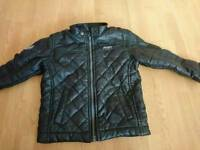 Size 3-4 boys next leather jacket