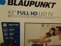BLAUPUNKT 43 inch PLASMA TV (BRAND NEW) REDUCED!!!