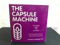 Capsule filling machine for size 0 capsules, make your own supplements!