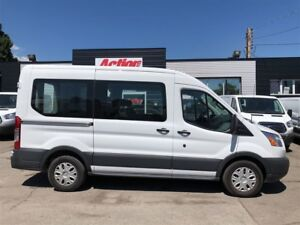2017 Ford Transit 8 passenger Mid Roof Cargo