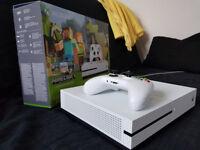 XBox One S 500 GB console , White