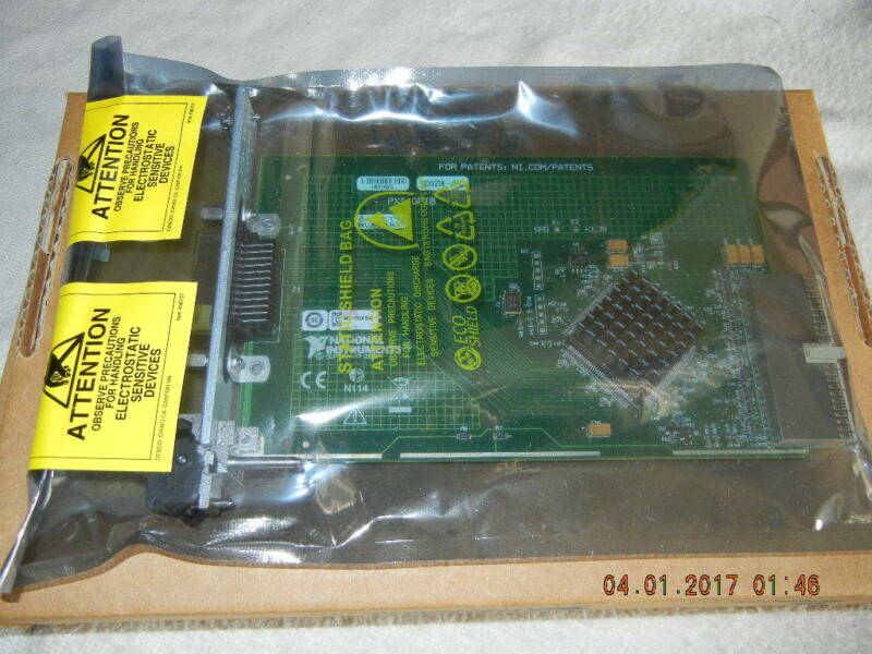 Genuine National Instruments PXI-GPIB Controller, 778039-01, Verified and Tested